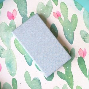 C LOGO SM ADRESS BOOK HARD COVER PERIWINKLE BLUE